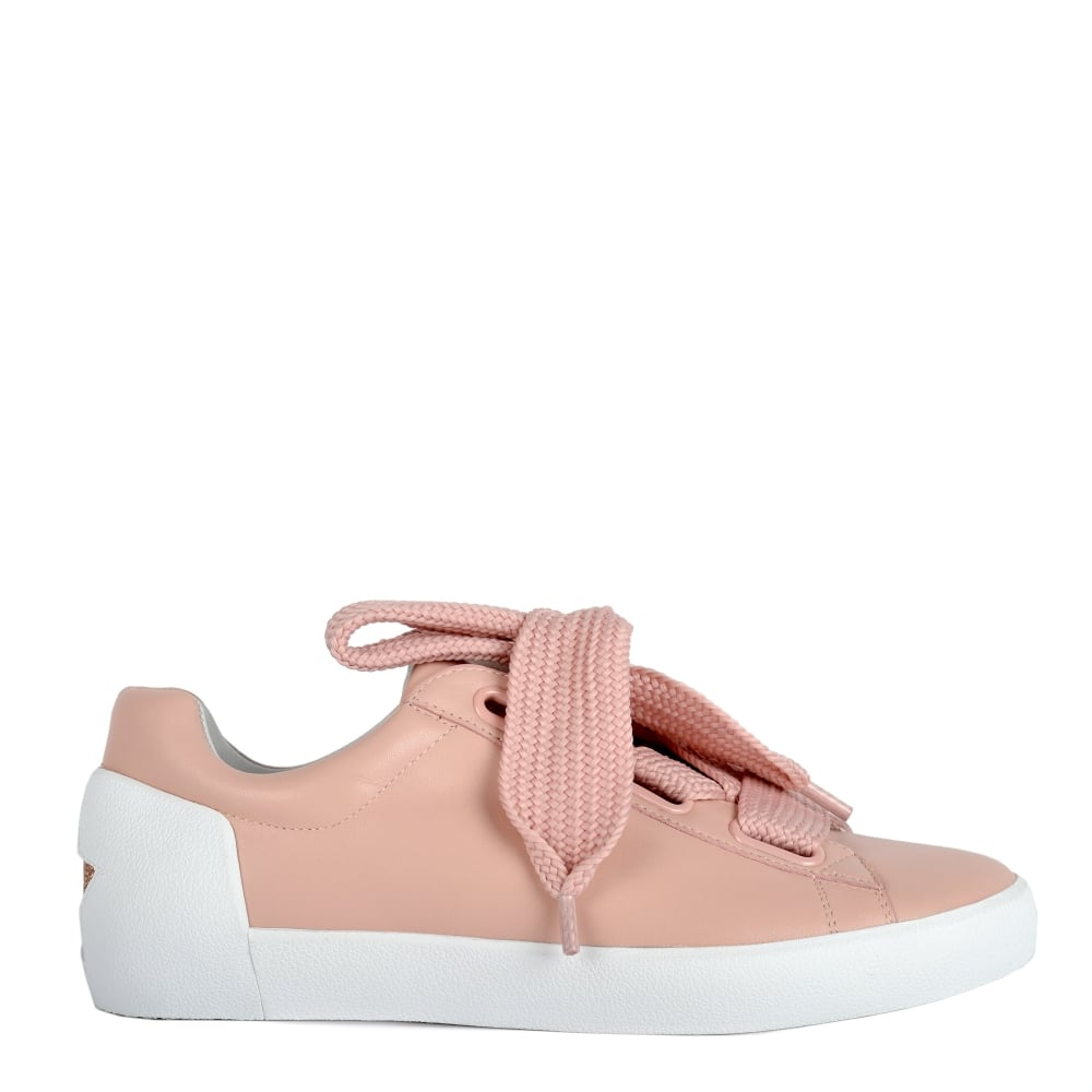 Shop Ash Nina Trainers In Nude Pink