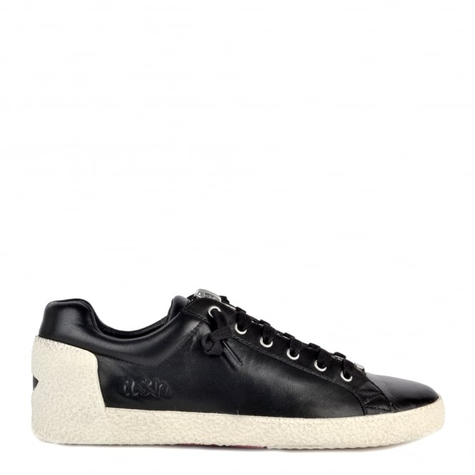 Ash NIRVANA Trainers Black Leather With Zip Detail
