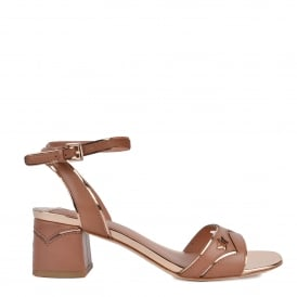 ODELIA Sandals Rosewood Pink Leather