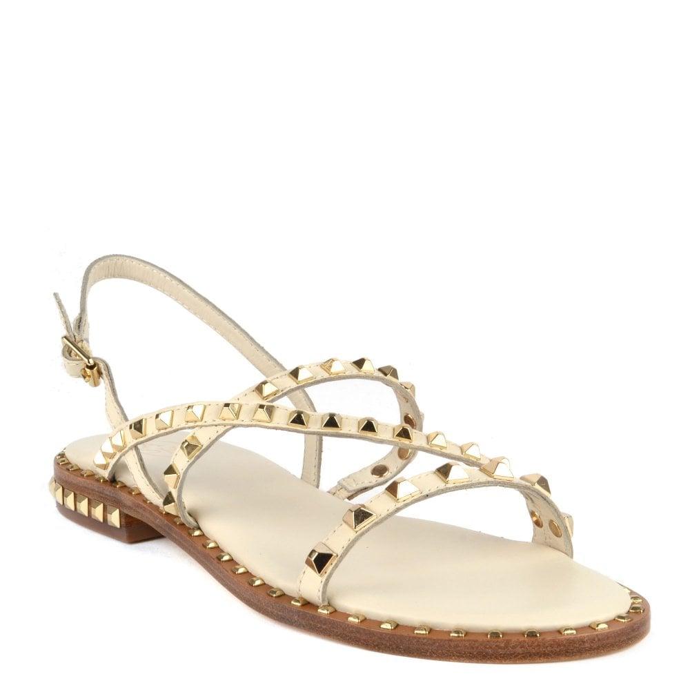 caf581849757 Peace | Shop Women's White Leather Sandals | ASH UK Official Site