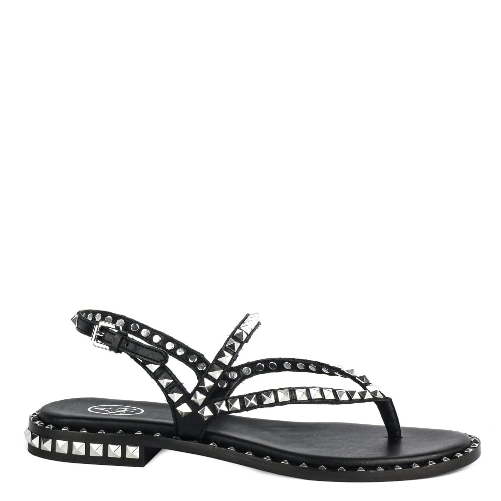 Marketable Ash Leather Flip Flops Big Discount Cheap Price New For Sale Discount Recommend Cheap Order Gobfen9Rn