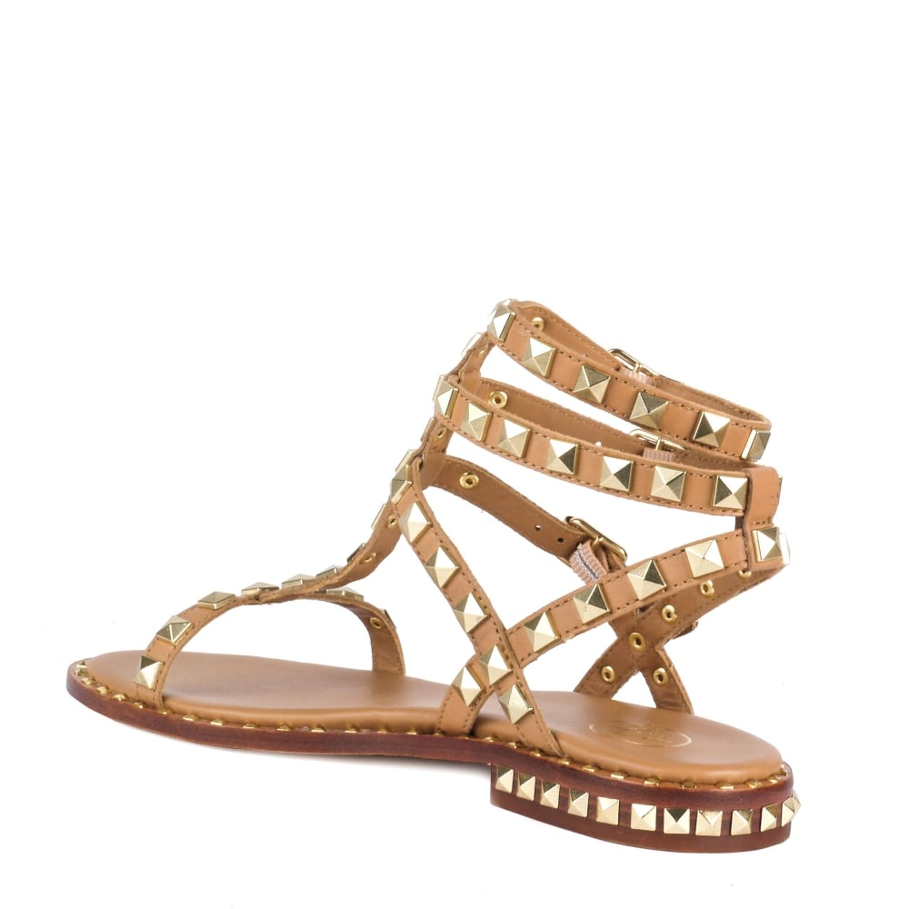 Shop Dbxerwco Ash At Leather Poison Footwear Nude Sandals Studded TcKJF1l