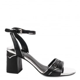 QUANTIC Sandals Black Leather