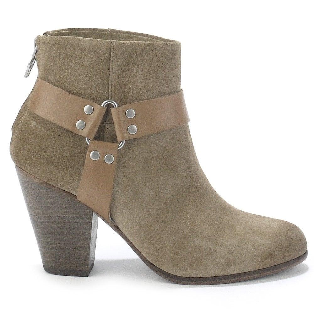 Ash Ash QUARTZ taupe suede ankle boots