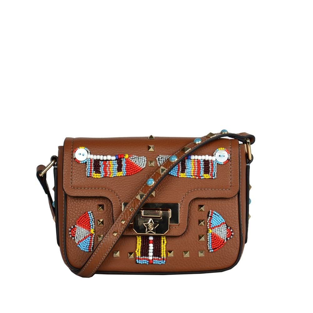 798a563a84b59 Shop Brown Leather Bags From The New Ash Footwear Range Online Today