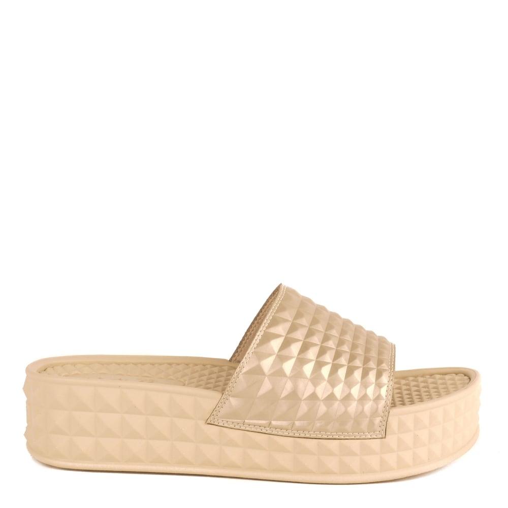 26c937e48e66 Shop Ash Footwear Sandals - The Platine Scream Sandals Are Online Now