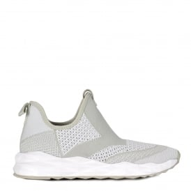 SHAKE Trainers Marble White Stretch Knit