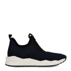 SHAKE Trainers Midnight Black Stretch Knit