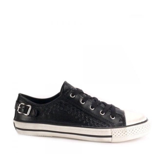 Ash VIRGO Trainers Black Leather