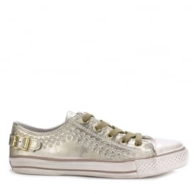 VIRGO Trainers Gold Leather