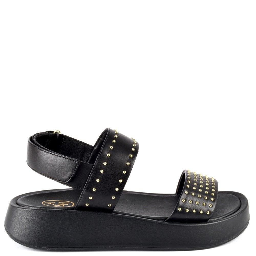 Vivi | Women's Black Platform Sandals
