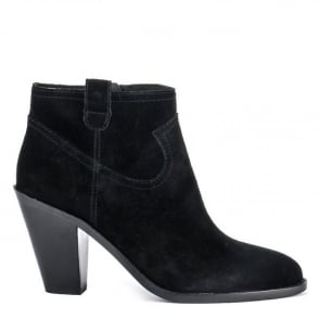 Ash IVANA Ankle Boots Black Suede