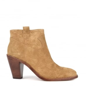 Ash IVANA Ankle Boots Wilde Brown Suede